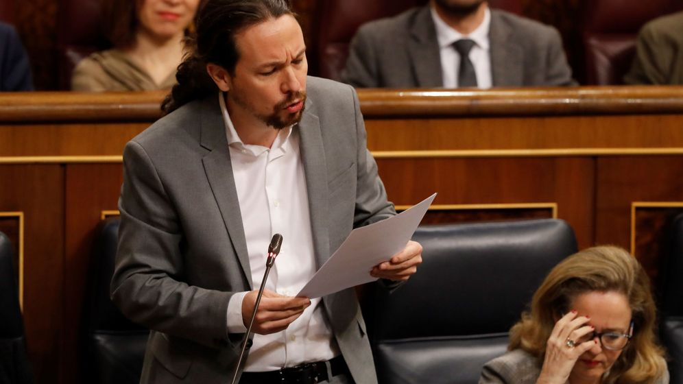 Foto:  El vicepresidente segundo, Pablo Iglesias. (EFE)