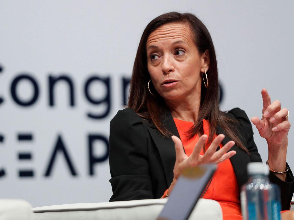 Foto:  La presidenta del Grupo Red Eléctrica, Beatriz Corredor (EFE)