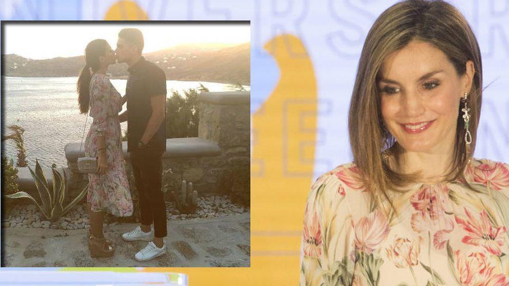 Melissa Jiménez le copia el vestido de Zara a la Reina Letizia