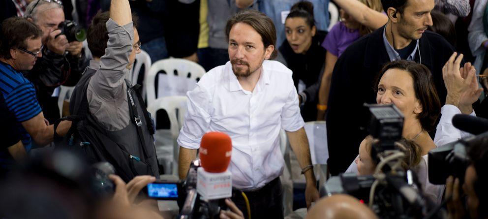 Foto: El líder de Podemos, Pablo Iglesias (Daniel Muñoz)