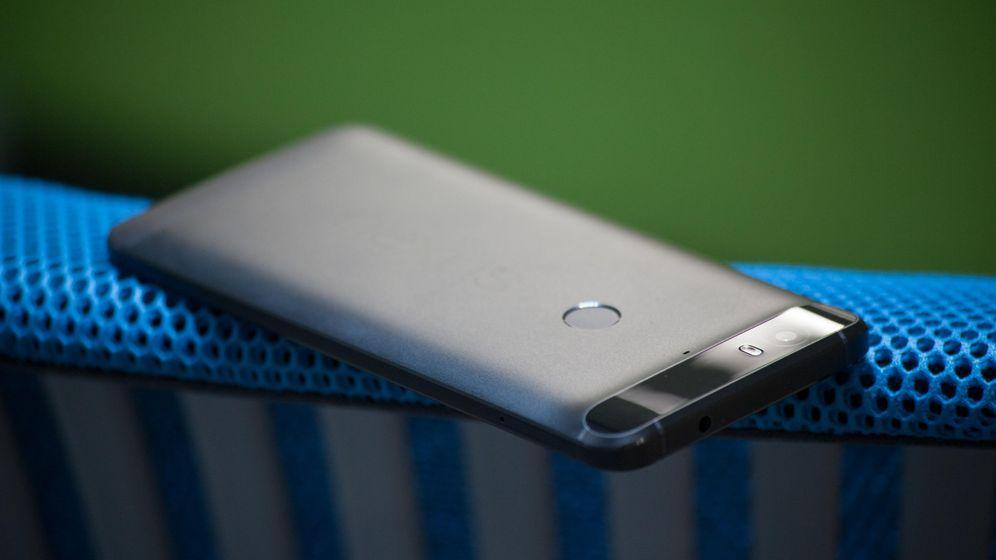 Foto: Google Nexus 6P, en su edición en negro (Foto: Enrique Villarino)