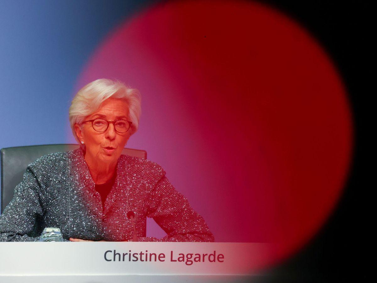 Foto: La presidenta del BCE, Christine Lagarde. (Reuters)