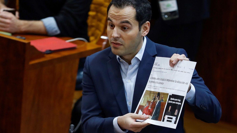 El portavoz de Ciudadanos, Ignacio Aguado. (EFE)