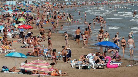 Gran afluencia en la playa y Amaral publica nuevo disco: el día en fotos