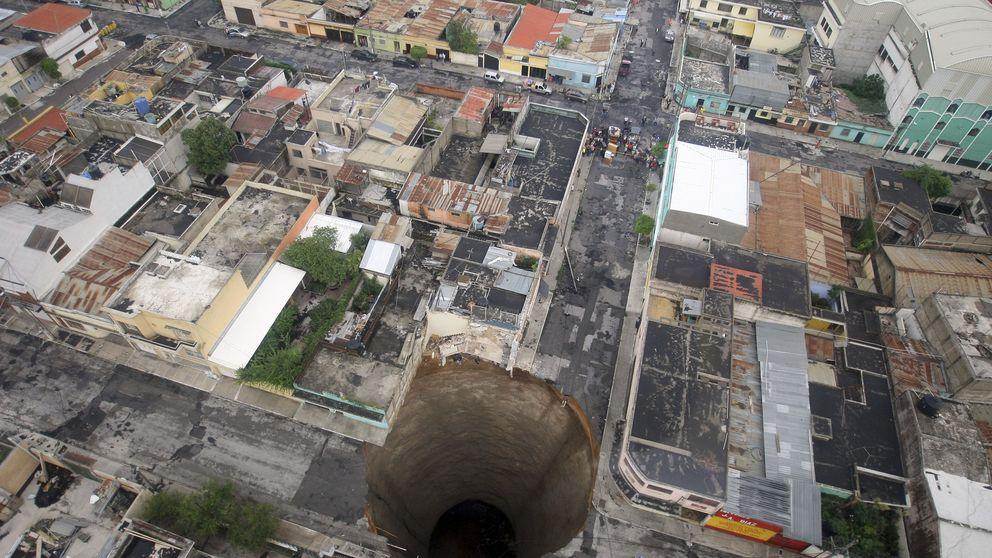 Cuando la tierra cede: los mayores socavones del mundo