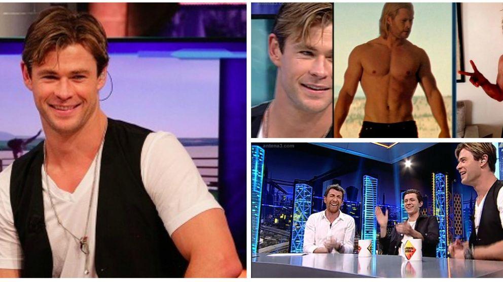 Chris Hemsworth: Elsa Pataky sufrió mi mal humor por estar a dieta