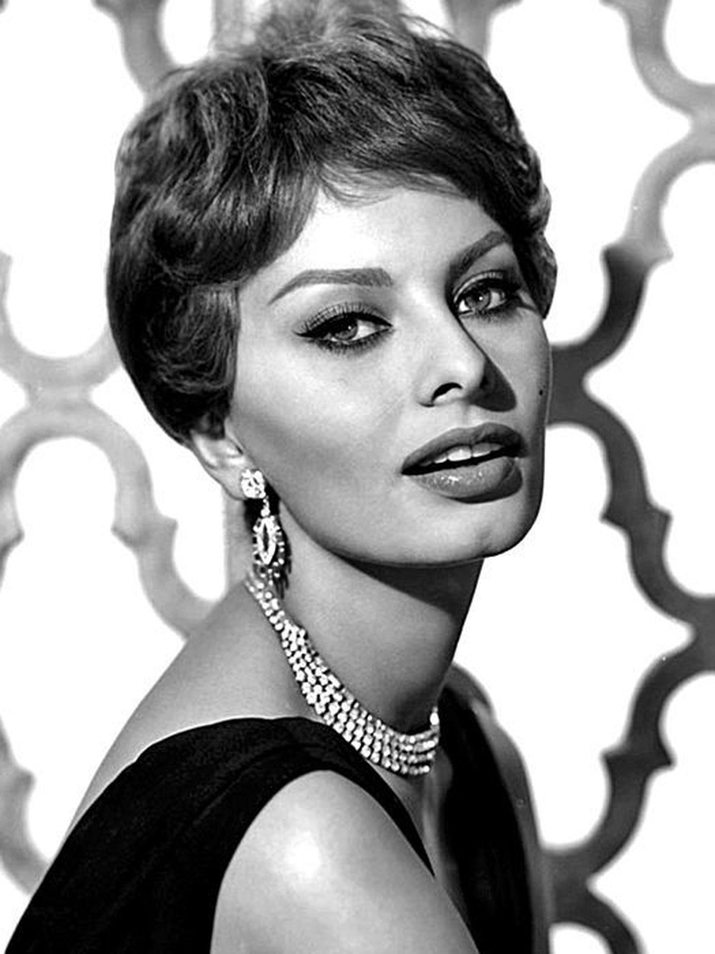 Sofía Loren en 1959 (CC)