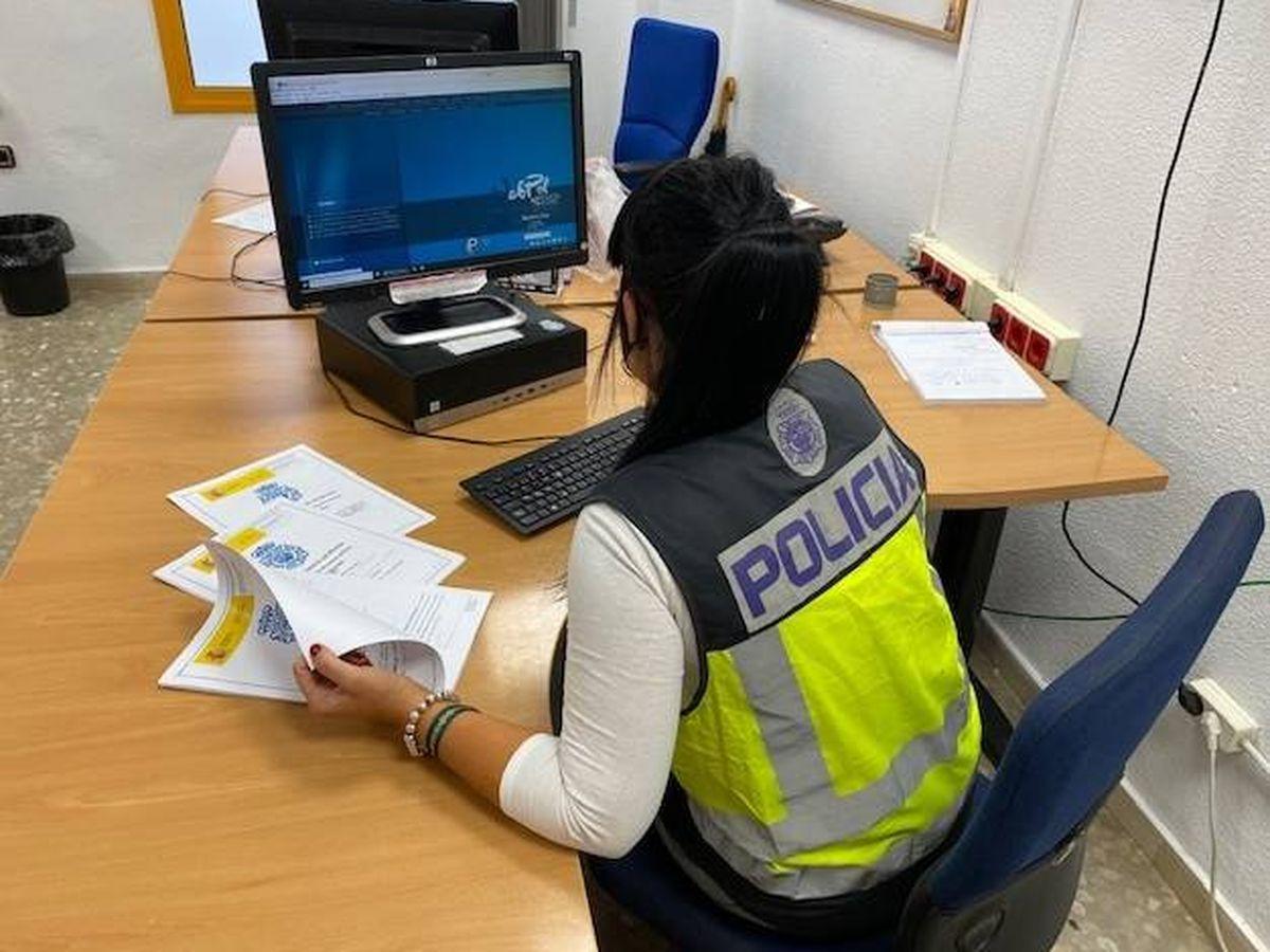 Foto: La investigación ha sido realizada por agentes del Grume de la Comisaría Provincial de Málaga. (Policía Nacional)