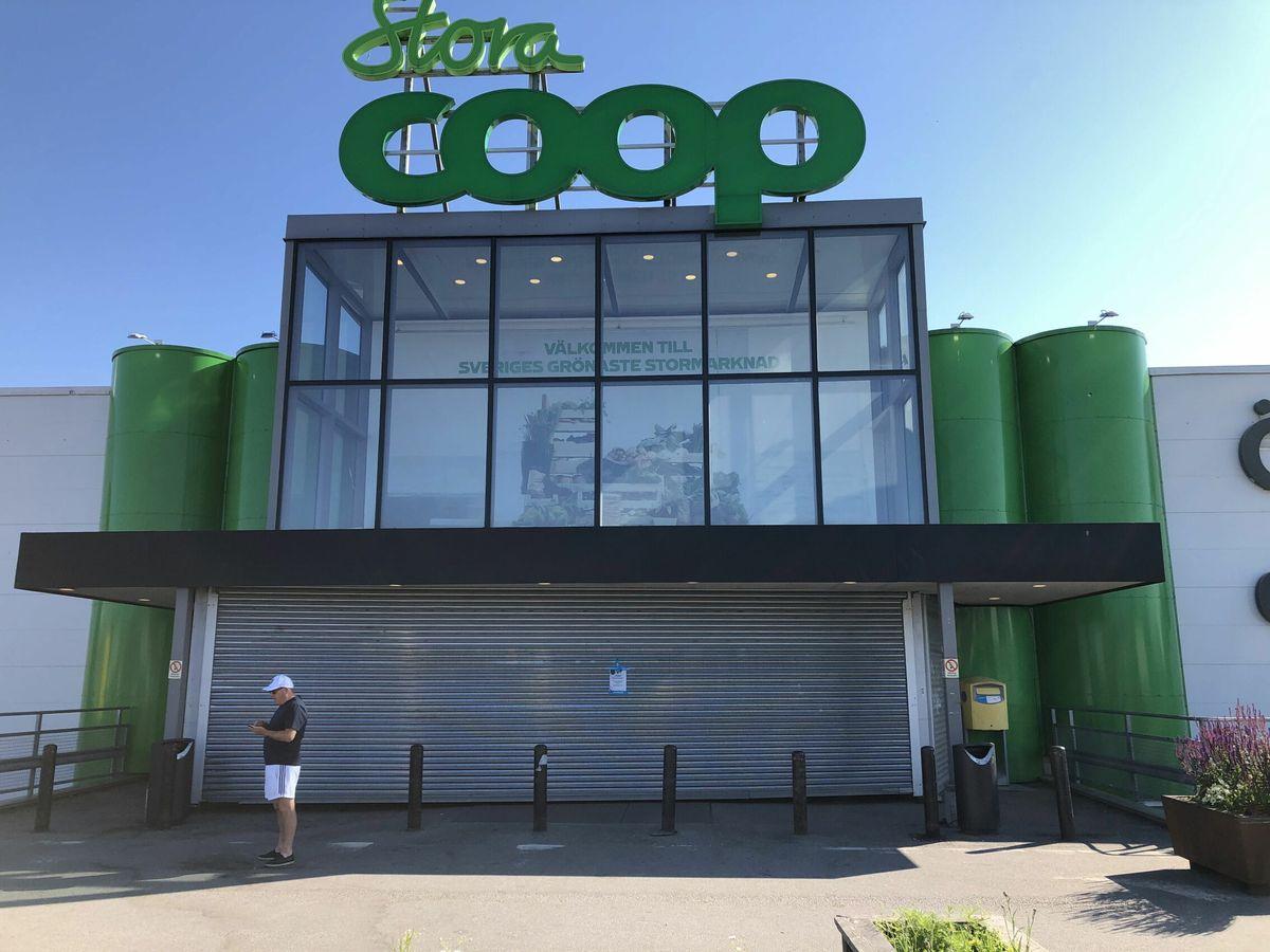 Foto: Ciberataque en los supermercados Coop en Suecia. (Foto: EFE)