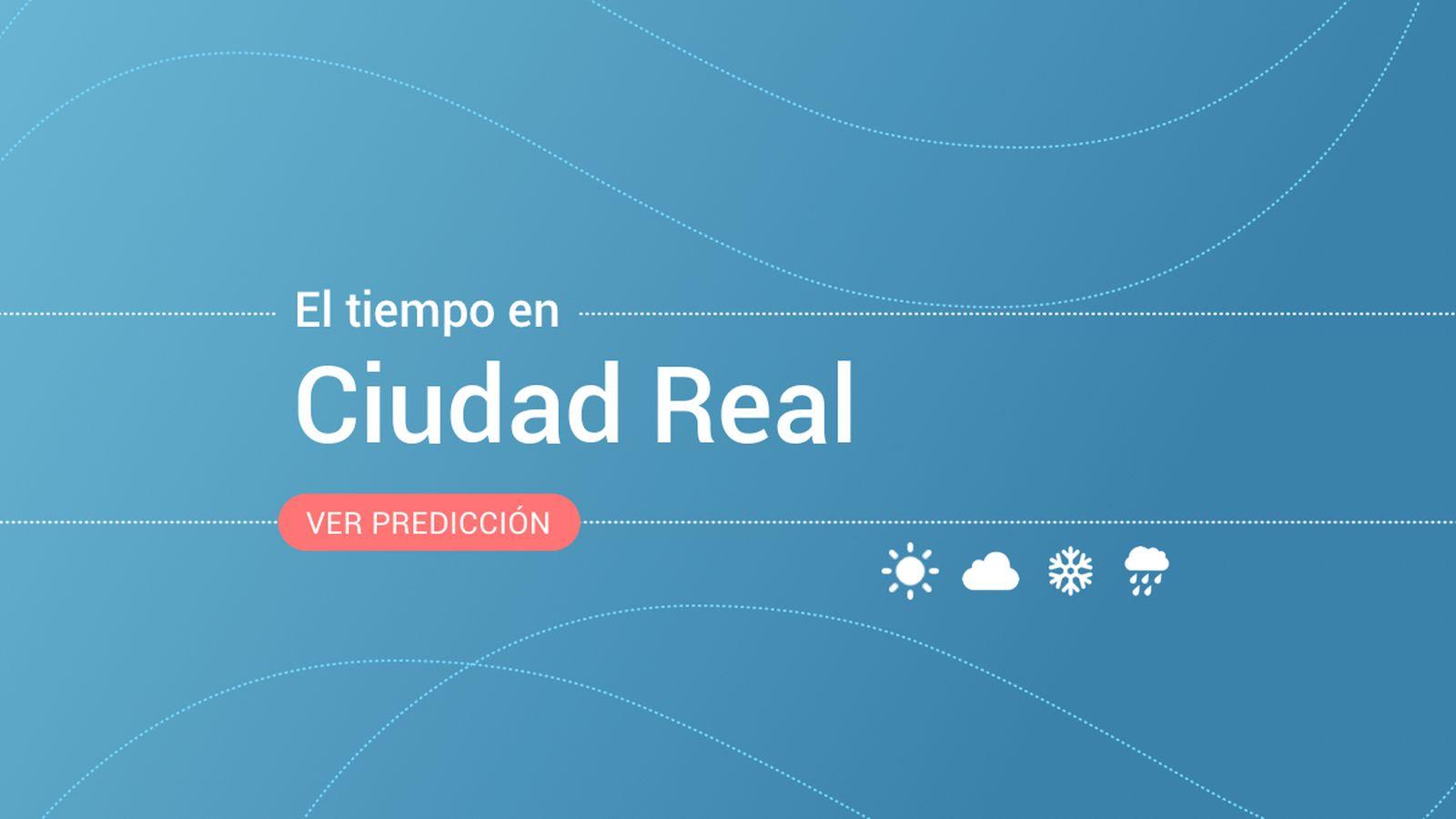 Foto: El tiempo en Ciudad Real. (EC)