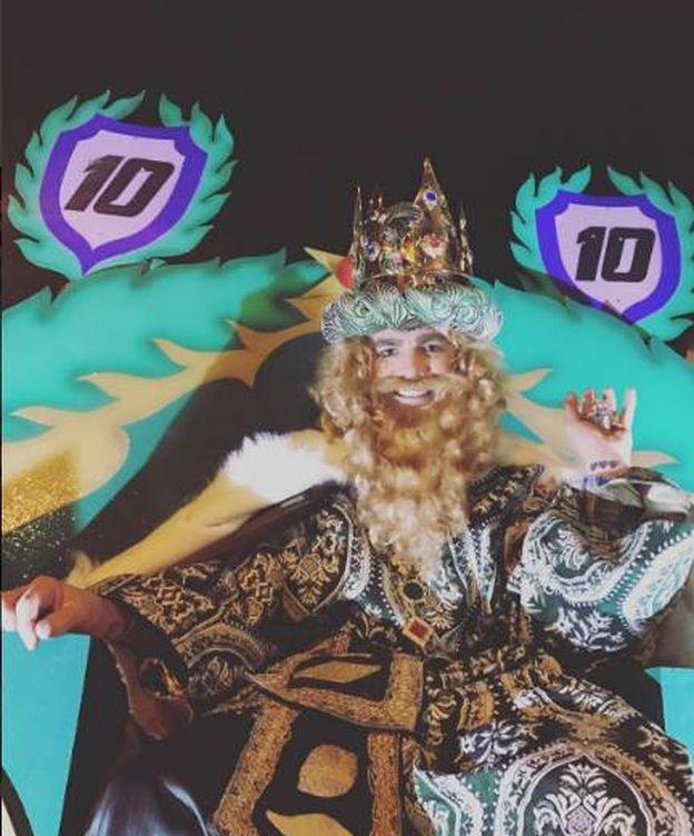 Foto: Fonsi Nieto como rey Gaspar (Instagram)