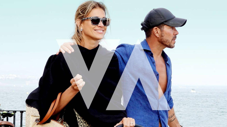 Fotos exclusivas: Simeone y Carla Pereyra, sus días más apasionados en Marbella