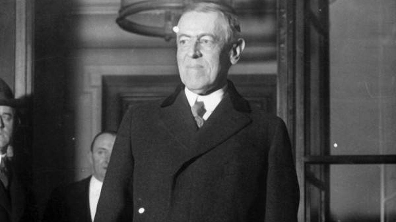 Woodrow Wilson en una imagen de archivo.