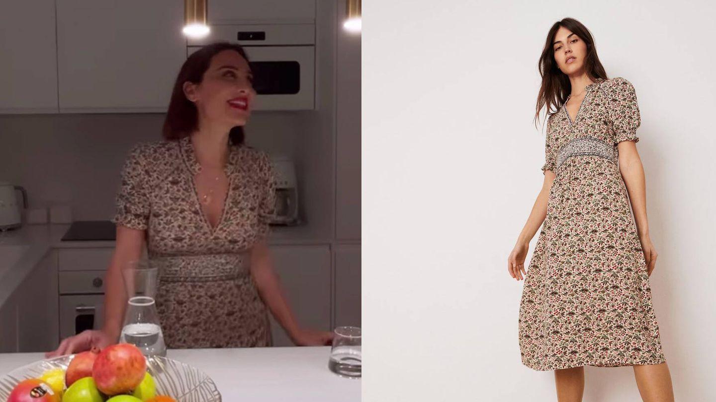 Tamara Falcó y su vestido de Ba&sh.