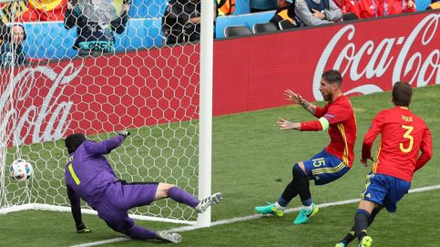 Las mejores imágenes del debut de España en la Eurocopa de Francia 2016