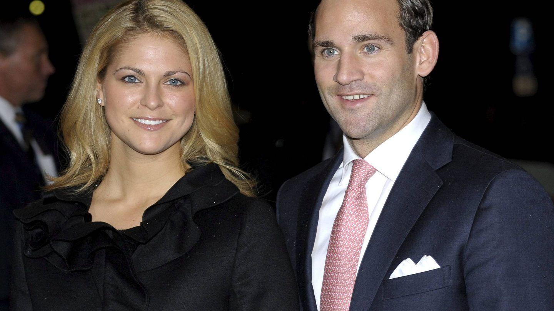 Magadalena de Suecia y su ex, Jonas Bergstrom, en una imagen de archivo. (EFE)