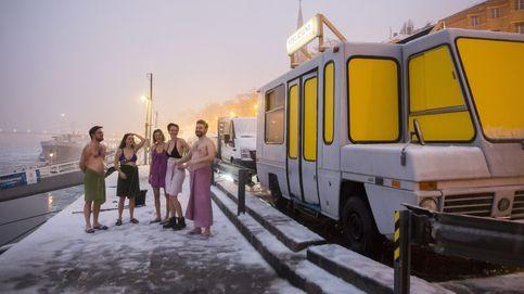 ¿Te imaginas una sauna móvil a orillas del Danubio? ¡Existe!