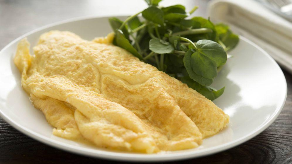 Foto: Una tortilla francesa tradicional. (iStock)