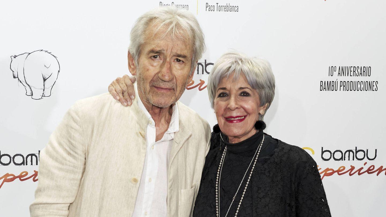 Dos leyendas de nuestro cine: José Sacristán y Concha Velasco. (Getty)