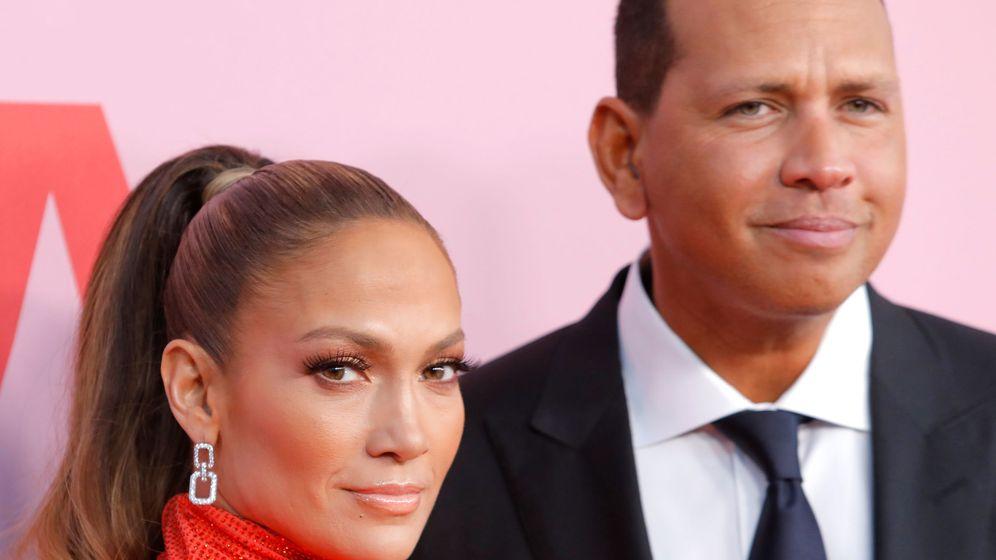 Foto: Jennifer López y Alex Rodriguez. (Reuters/Andrew Kelly)