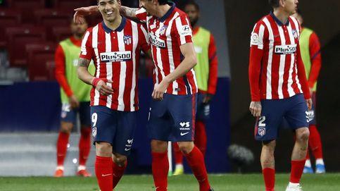 Salvador Oblak, goleador Suárez: El Atlético se aferra al liderato (1-0)