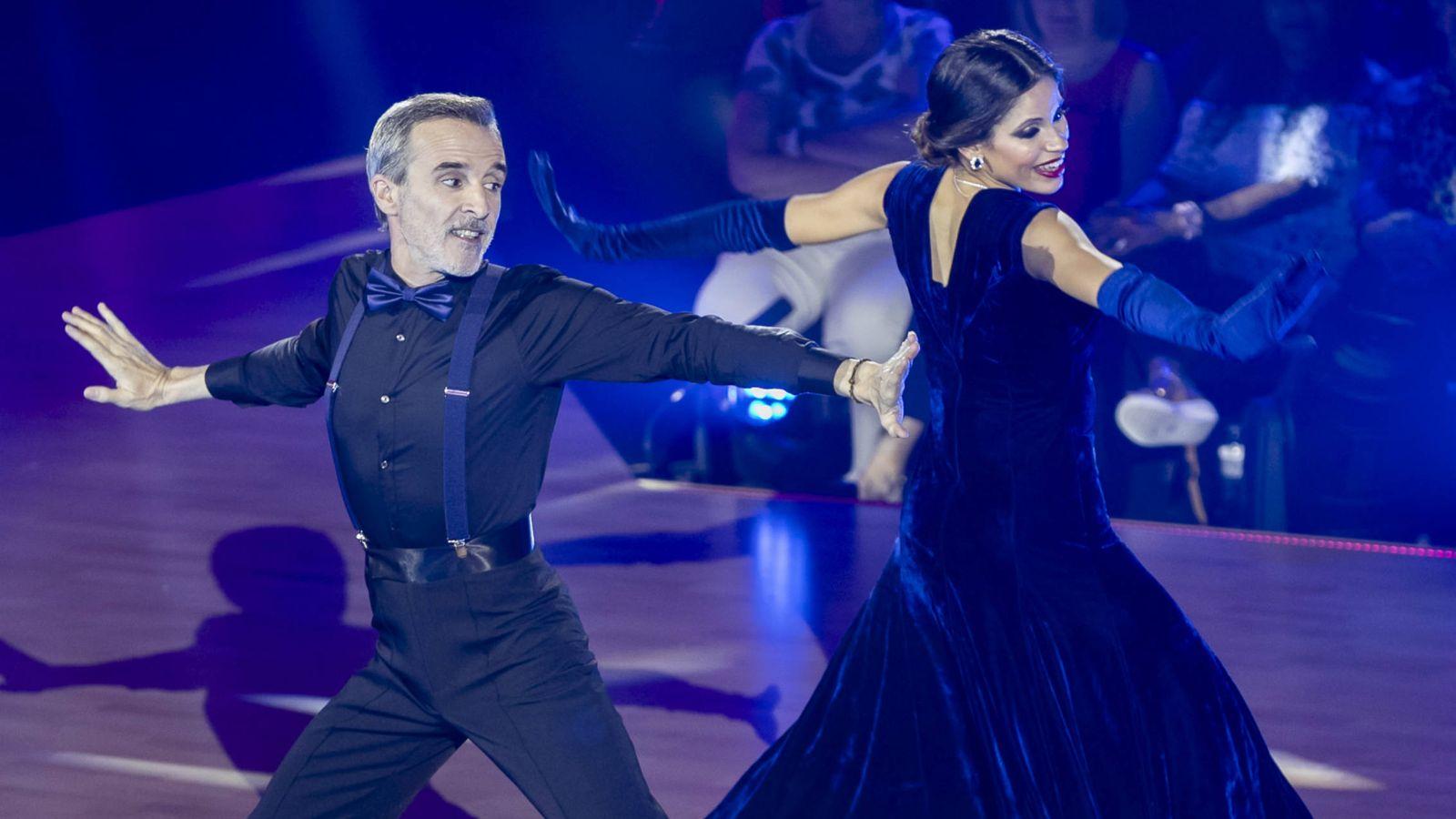 Foto: Fernando Guillén Cuervo en 'Bailando con las estrellas'