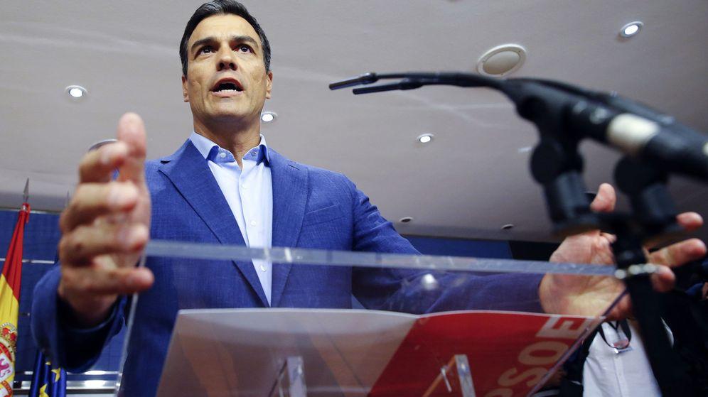 Foto: El 'FT' pide a Pedro Sánchez, líder del PSOE, que se abstenga (Efe).