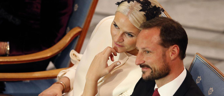 Foto: Los príncipes Haakon y Mette-Marit en una fotografía de archivo (Reuters)