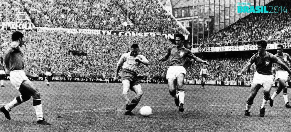 Foto: Suecia '58: el Mundial de Pelé