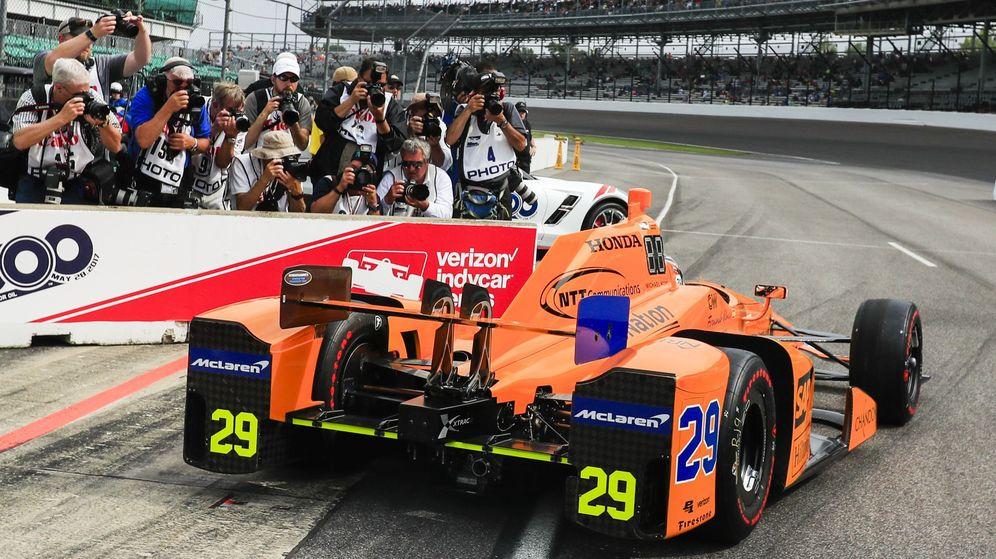 Foto: La expectación por ver a Fernando Alonso en las 500 Millas de Indianápolis es muy alta. (EFE)