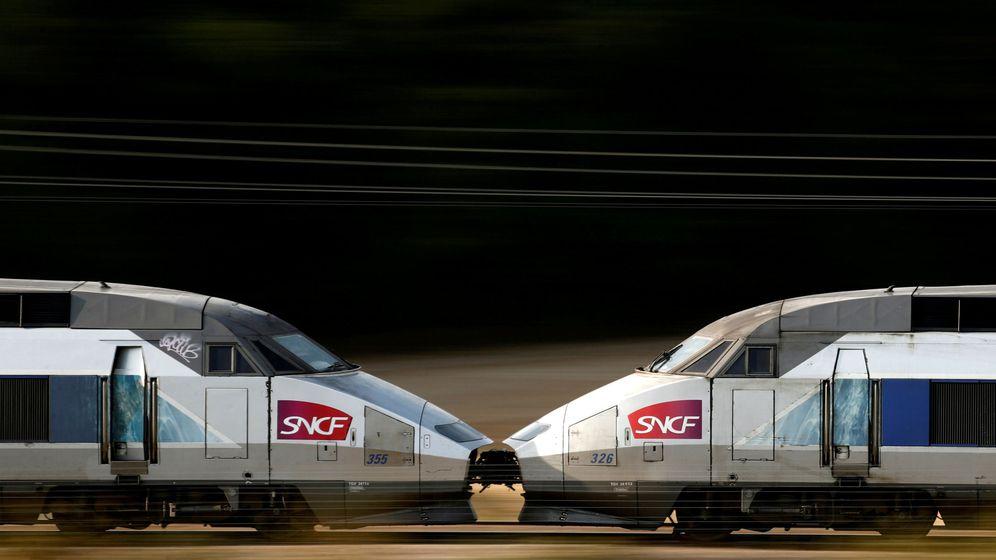 Foto: Trenes de SNCF en Paris (Francia). (Reuters)