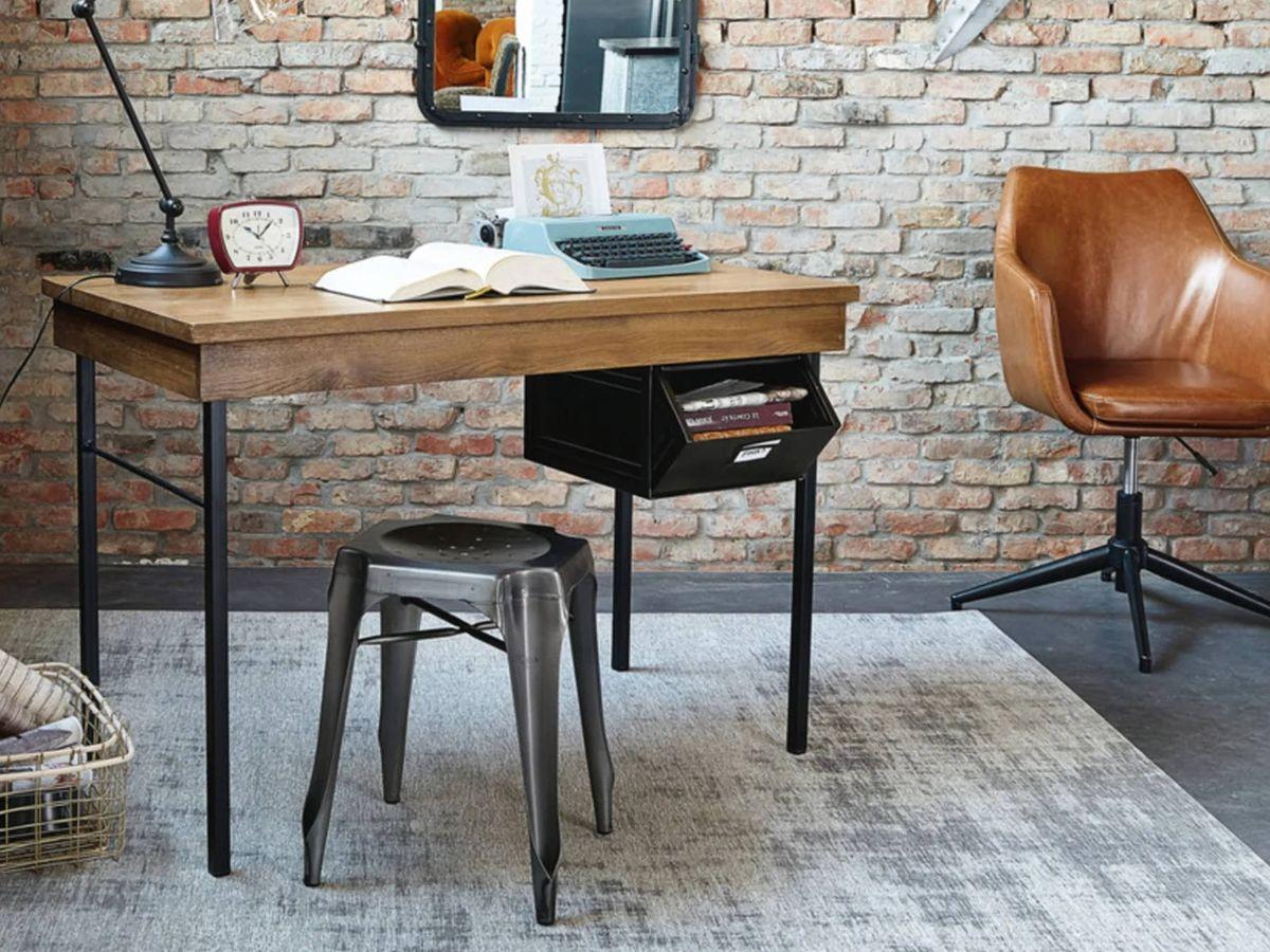 Foto: Busca la mejor silla para tu despacho, como esta de Maisons du Monde. (Cortesía)