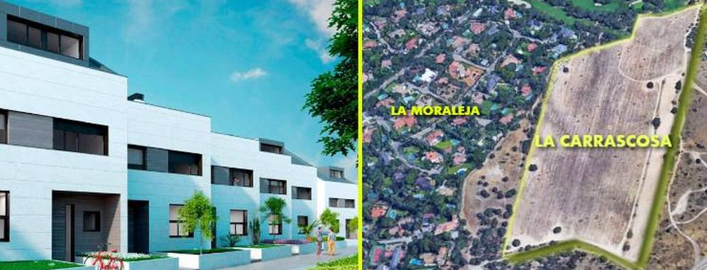 Foto: Muchas viviendas de La Carrascosa, en La Morajela, están ya vendidas.