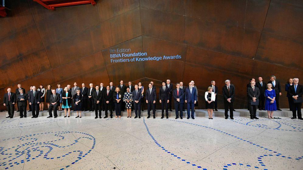 Foto: Ceremonia de entrega de los premios (FBBVA)