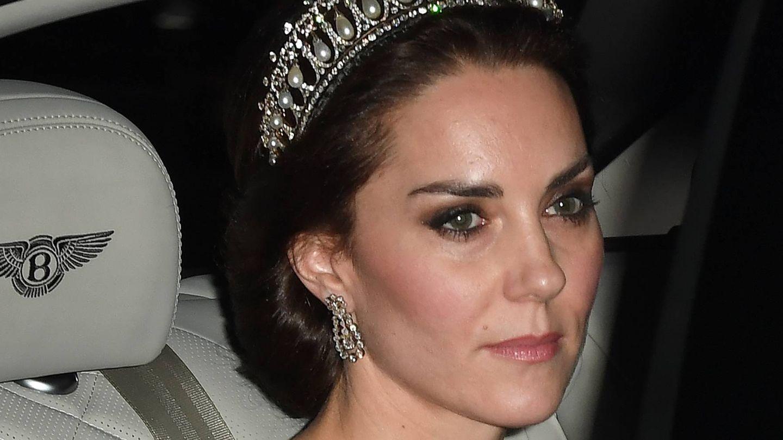 Kate con la tiara que solía llevar Lady Di (Gtres)