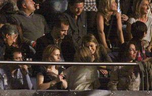 Foto: Los Príncipes, en el concierto de Shakira