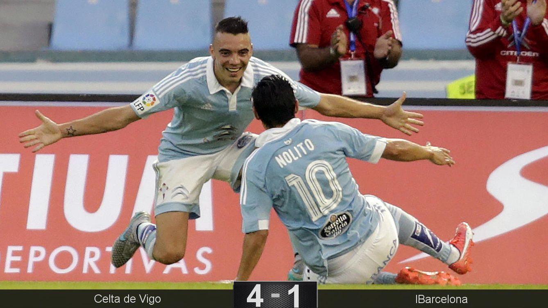 Foto: El Celta hace que el Barcelona empiece a acostumbrarse a las goleadas
