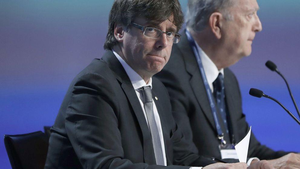 Puigdemont ,sin los del referéndum pactado
