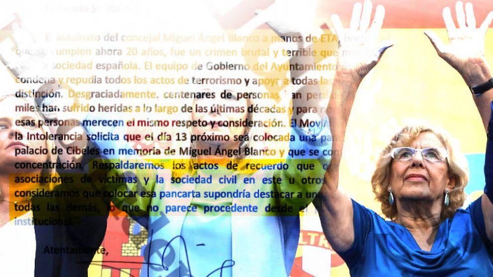Los 'mails' desmontan la versión de Carmena sobre el homenaje a Miguel Ángel Blanco