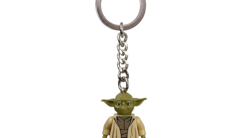 El llavero de Yoda de Lego.