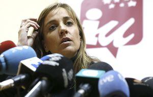 IU llama a capítulo a Tania Sánchez por su actuación poco respetable
