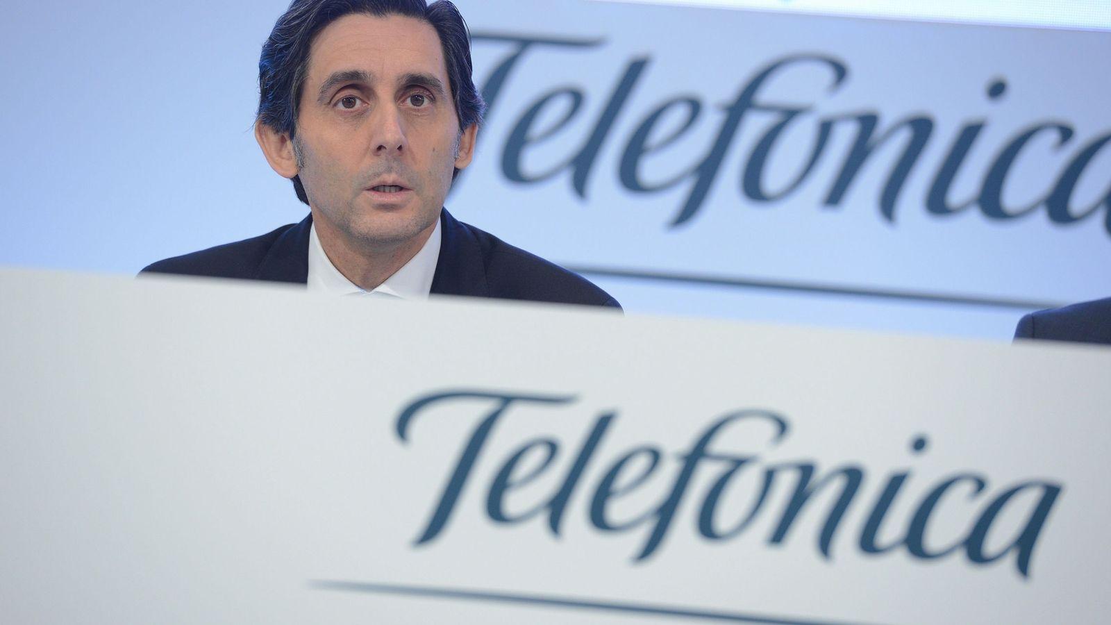 Foto: El presidente de Telefonica, José María Álvarez-Pallete. (EFE)
