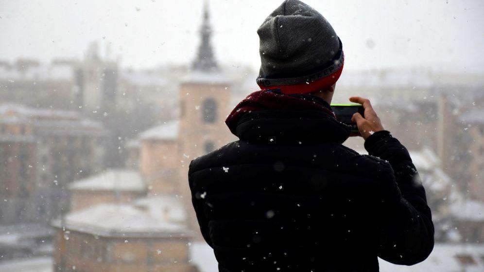 Foto: En Madrid, los termómetros bajarán hasta los 10ºC y en Soria estarán bajo cero. (EFE)