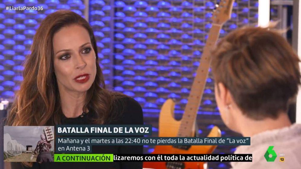Foto: Eva González, en 'Liarla Pardo'. (La Sexta)