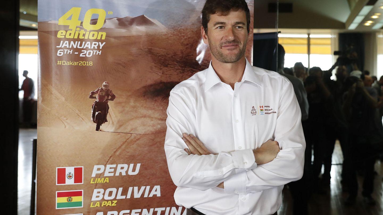 Marc Coma, cinco veces ganador del Dakar en motos y exdirector de la carrera, suena como copiloto de Fernando Alonso. (EFE)