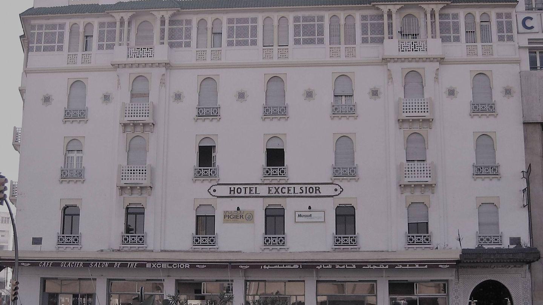 El hotel Excesior de Casablanca, de estilo colonial neoárabe, se construyó entre 1914 y 1916. (MGR)