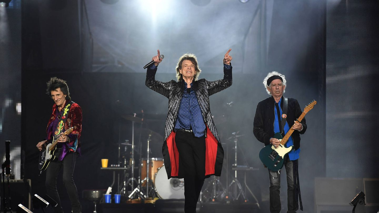 The Rolling Stones. (Getty)