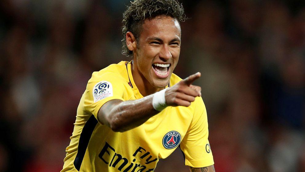 Neymar enamora en su estreno en Francia