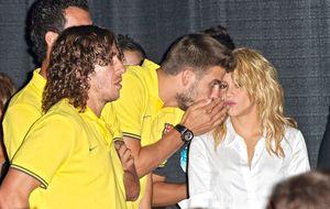 El divertido encuentro de Shakira y Piqué en Miami