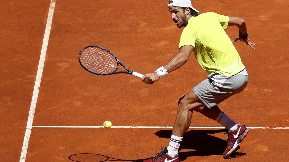 Foto: López es el único tenista que ha jugado todas las ediciones del Masters 1000 de Madrid (Chema Moya/EFE)